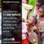 Más de seis millones de menores de cinco años están en peligro de muerte