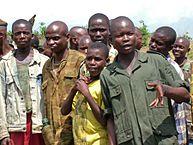 Niños  Soldados. Foto: L.Rose