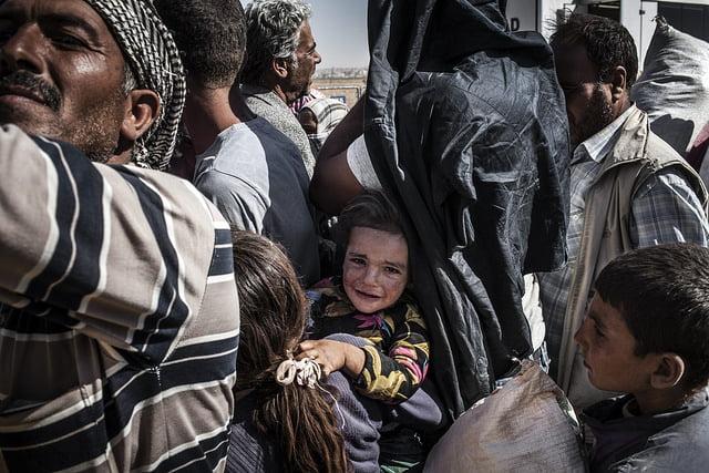 Sirios en Turquía. Foto: Sandra Gonzalez