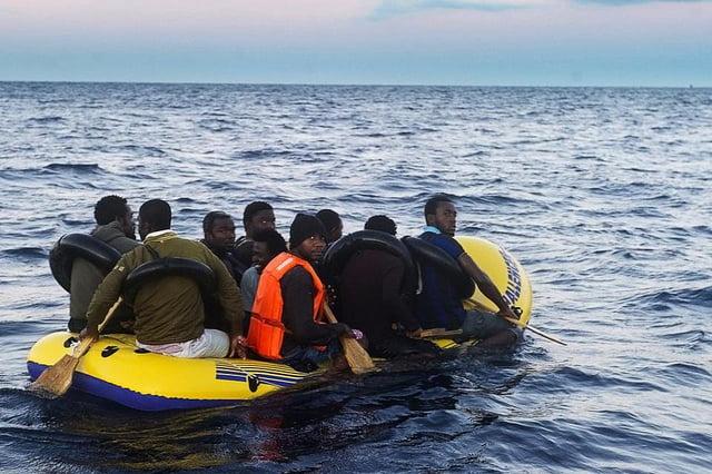 Dirección a las costas de Tarifa. Foto: Petits Detectius