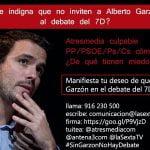 IU recurre a la Junta Electoral los debates televisivos donde no han sido invitados