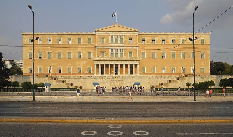 periodismo de datos, parlamento griego