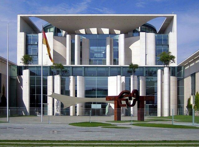 periodismo de datos, sede del gobierno alemán