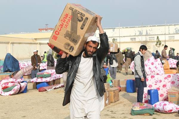 víctimas afganas