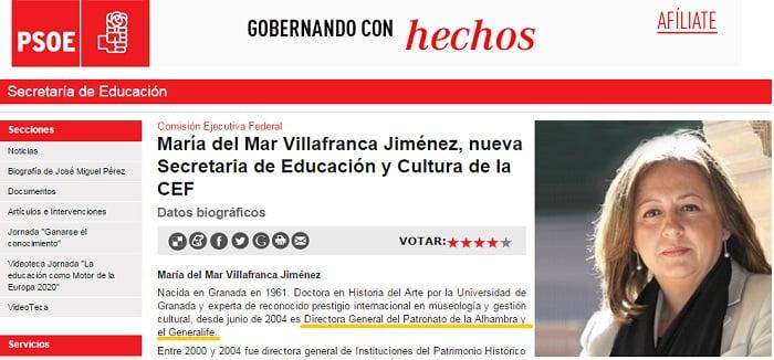 Web Psoe.es