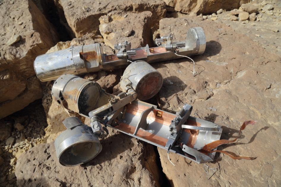 bomba de rácimo Yemen